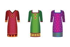 Vestidos indianos Fotos de Stock Royalty Free