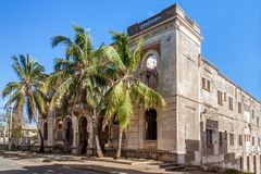 Vestige of colonial architecture. In Diego Suarez & x28;Antsiranana& x29;, north of Madagascar Stock Images