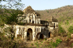Vestige of old castle of Pathrigarh, Satna, MP, India Royalty Free Stock Images