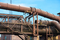 Vestiges industriels Photos stock