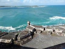 Vesting/Castillo DE San Cristobel in San Juan, Puerto Rico Royalty-vrije Stock Afbeelding