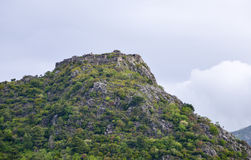 Vesting haj-Nehaj boven Sutomore, Montenegro Stock Foto