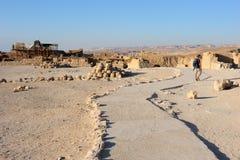 Vesting Masada in Israël Royalty-vrije Stock Afbeeldingen