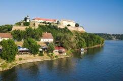 Vesting Novi Sad - Petrovaradin royalty-vrije stock afbeeldingen