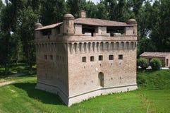 Vesting Rocca Stellata. Bondeno. Emilia-Romagna. Royalty-vrije Stock Fotografie