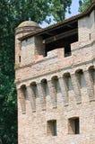 Vesting Rocca Stellata. Bondeno. Emilia-Romagna. Italië. Royalty-vrije Stock Afbeelding