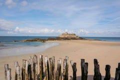Vesting Saint Malo Stock Afbeeldingen