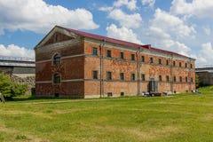 Vesting Shlisselburg, het gebied van St. Petersburg, Rusland Stock Afbeeldingen