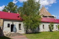 Vesting Shlisselburg, het gebied van St. Petersburg, Rusland Stock Afbeelding
