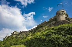 Vesting van Klis buiten stad van Spleet in Dalmatië Kroatië Stock Afbeeldingen