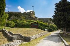 Vesting van Klis buiten stad van Spleet in Dalmatië Kroatië Stock Foto