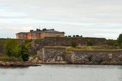 Vesting van Suomenlinna (Sveaborg) Royalty-vrije Stock Fotografie