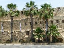 Vestingsmuren van de toevluchtstad van Acre royalty-vrije stock afbeeldingen
