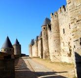 Vestingwerk, Carcassonne Royalty-vrije Stock Foto