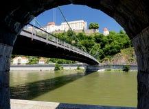 Vestingwerk in Passau royalty-vrije stock foto's