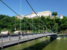Vestingwerk in Passau stock foto