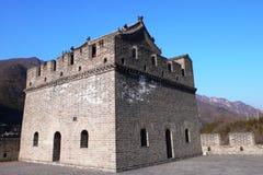 Vestingwerk van de Grote Chinese muur Stock Afbeelding