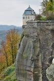 Vestingwerk van het middeleeuwse kasteel Royalty-vrije Stock Afbeeldingen