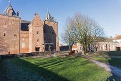 Vestingwerk van Loevestijn in Nederland Stock Afbeeldingen