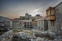 Vestingwerkmuren en watchtowers van de vesting Rabat Royalty-vrije Stock Afbeeldingen