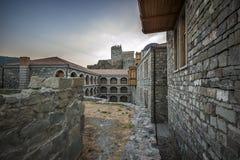 Vestingwerkmuren en watchtowers van de vesting Rabat Stock Afbeeldingen