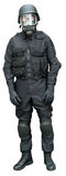 Vestir de las fuerzas especiales Fotografía de archivo