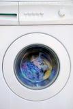 Vestir en lavadora Imágenes de archivo libres de regalías