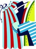 Vestiti immagine stock