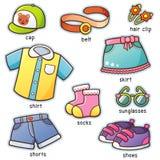 Vestiti illustrazione vettoriale