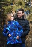 Vestiti caldi di inverno fotografia stock