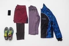 Vestiti correnti, organizzati Fotografie Stock
