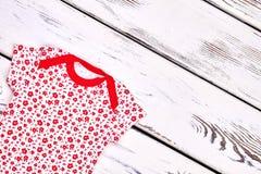 Vestiti d'annata di progettazione della neonata Fotografia Stock