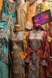 Vestiti da abitante dell'Oman di Tipycal Fotografie Stock