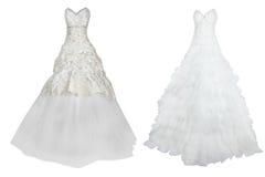 Vestiti da sposa immagine stock