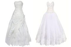 Vestiti da sposa immagini stock libere da diritti
