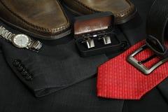 Vestiti degli uomini Fotografie Stock