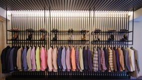 Vestiti degli uomini Fotografia Stock