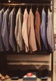 Vestiti degli uomini Fotografia Stock Libera da Diritti