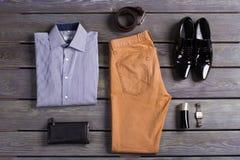 Vestiti degli uomini di affari Fotografie Stock Libere da Diritti