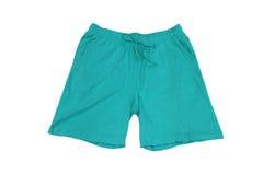 Vestiti degli uomini Shorts per verde domestico Fotografie Stock