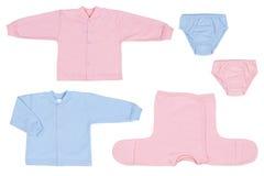 Vestiti del bambino Fotografie Stock Libere da Diritti