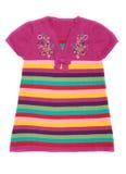 Vestiti del bambino di colore Fotografie Stock