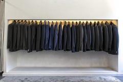 Vestiti del lusso del ` s degli uomini Fotografia Stock