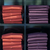 Vestiti del tessuto della lana Fotografia Stock Libera da Diritti