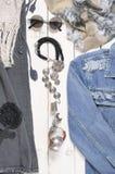 Vestiti della donna nello stile di boho immagini stock libere da diritti