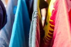 Vestiti della lavanderia Immagine Stock Libera da Diritti