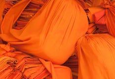 Vestiti delle rane pescarici buddhistic immagine stock