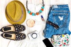 Vestiti di estate Fotografia Stock Libera da Diritti