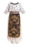 Vestiti di folclore immagine stock