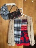 Vestiti di inverno Fotografia Stock